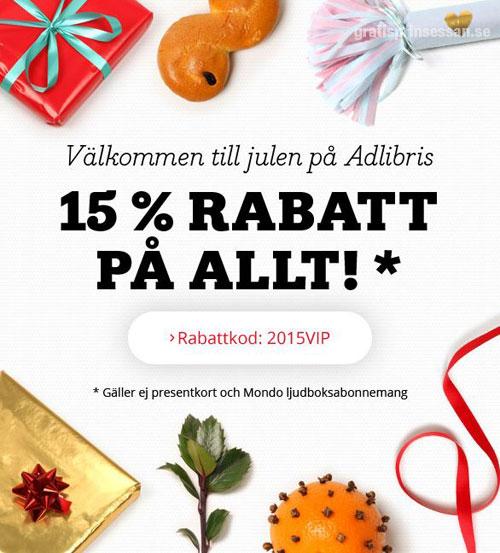 Adlibris Rabattkod Skäringer