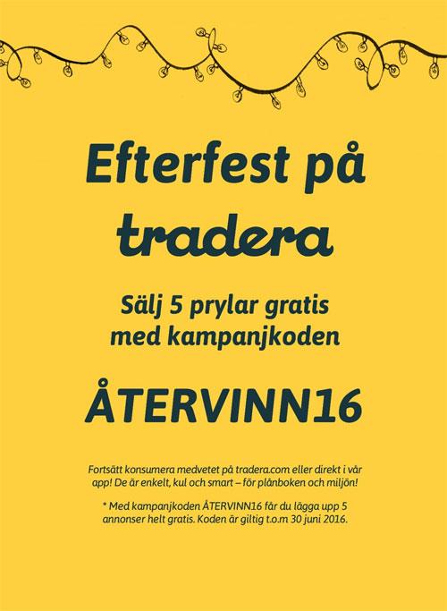 tradera gratis annonser