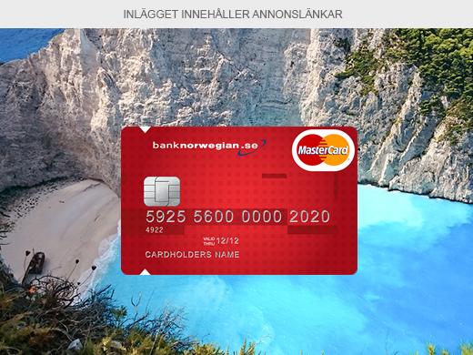 hur kan norwegian-kortet vara gratis