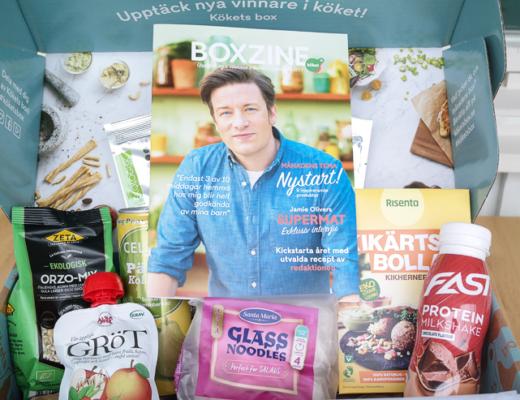 kökets box - nystart - januari