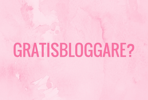 gratisbloggare