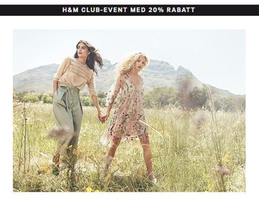 H&M Club Event