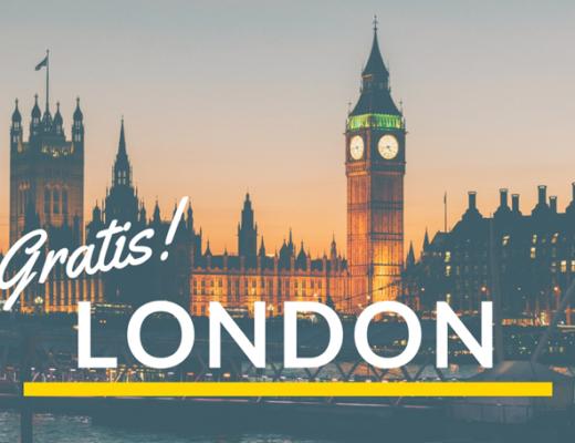 res gratis till london