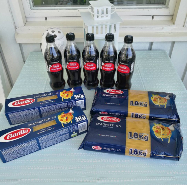gratis coca cola