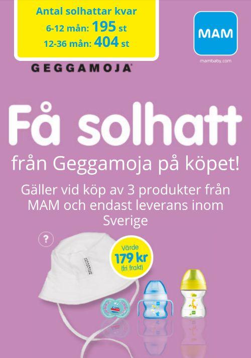 Mam - solhatt från Geggamoja