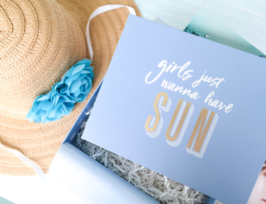 glossybox girls just wanna have sun