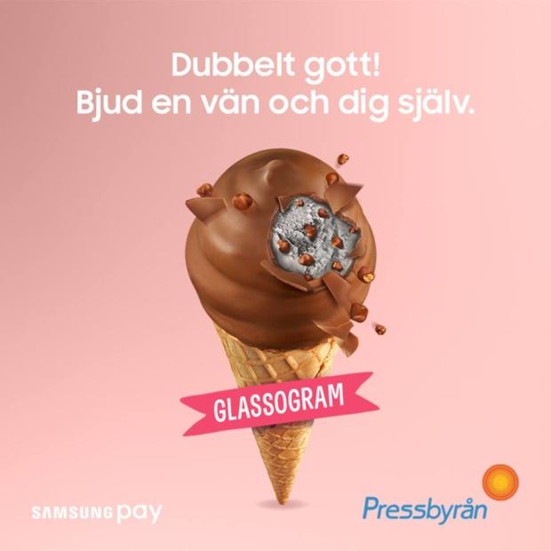glassogram samsung pay