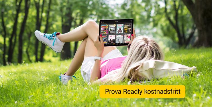 readly gratis i 1 månad