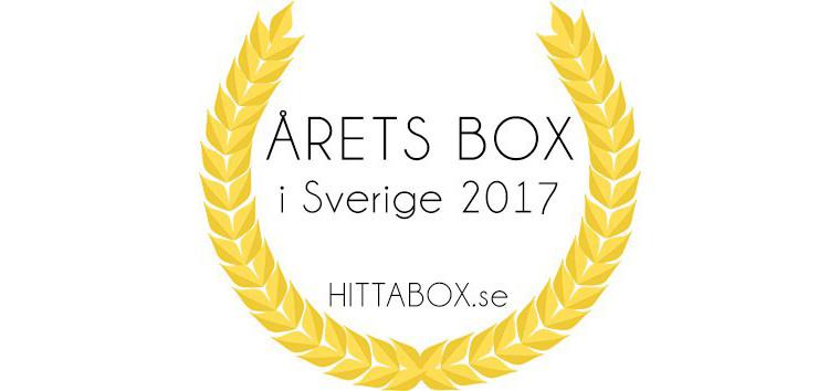 årets prenumerationsbox 2017