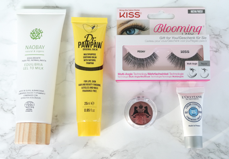 glossybox the autumn effect 2017