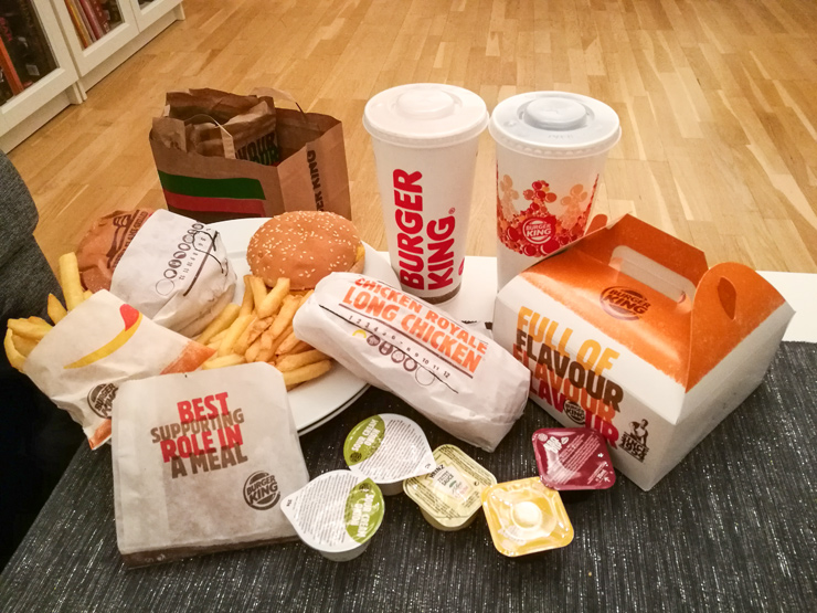 gratis mat med wrapp