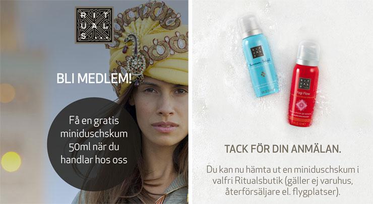gratis duschskum från rituals