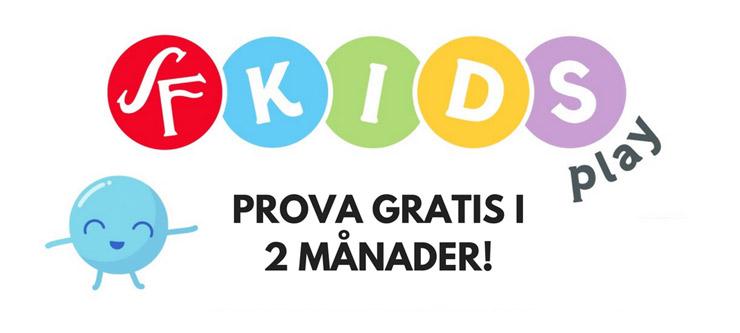 sf kids play rabatt - 2 månader gratis