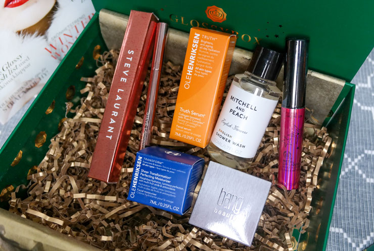 glossybox christmas delight