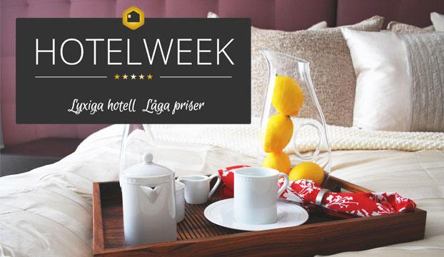 hotelweek - lyxhotell från 500 kr