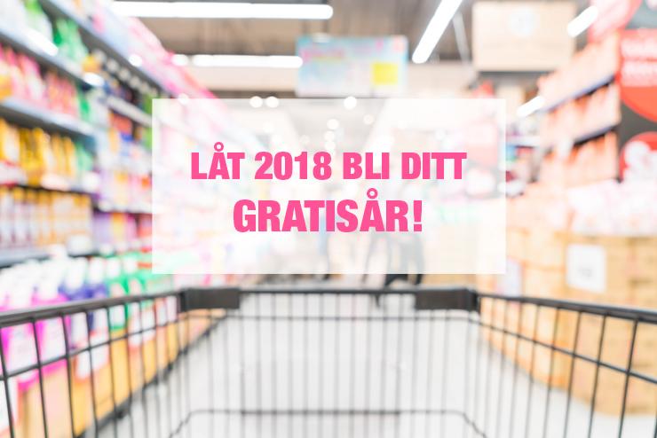 LÅT 2018 BLI DITT GRATISÅR