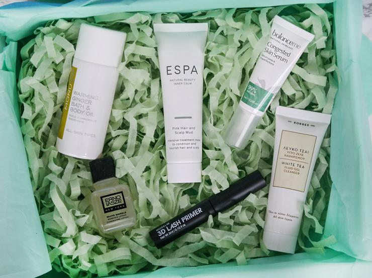 lookfantastic beauty box - januari