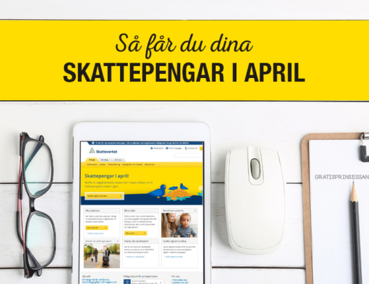 skatteåterbäring i april