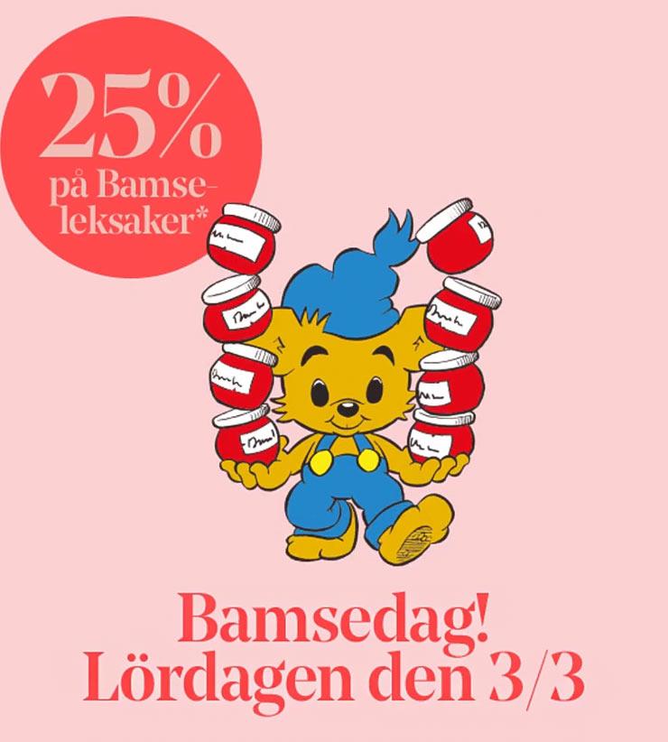 bamsedagen på Åhléns i Stockholm