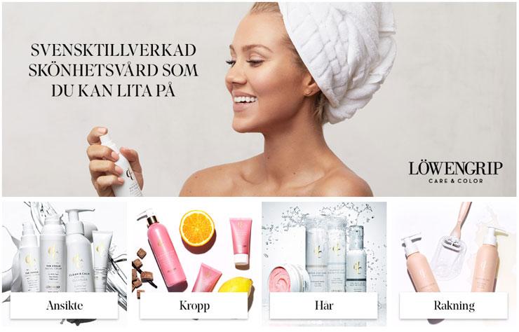 utförsäljning av Löwengrip Care & Color