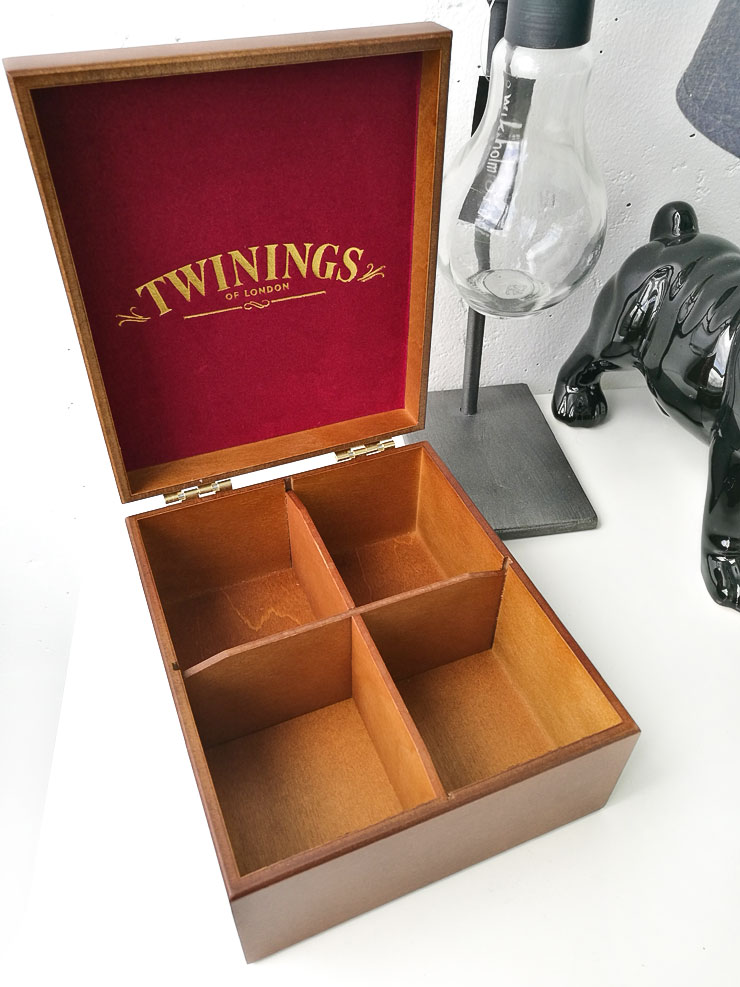 twinings teskrin - träskrin