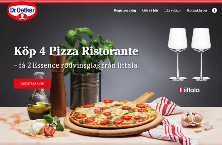 ristorante samlarkampanj