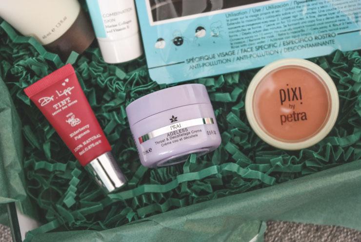 lookfantastic beauty box oktober 2018 hidden gems