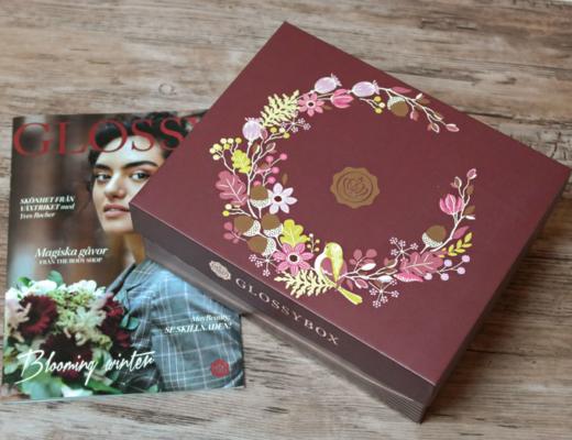 glossybox november 2018 - blooming winter