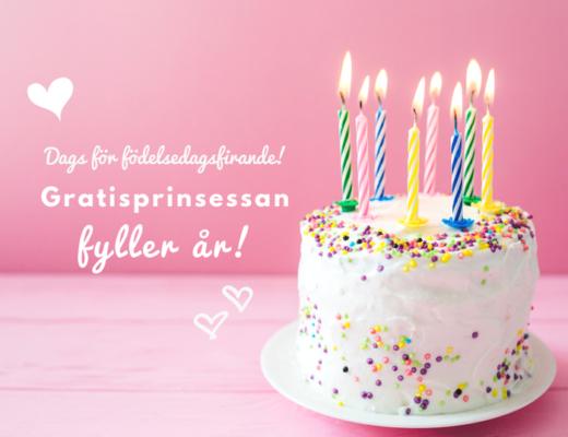 gratisprinsessan födelsedag