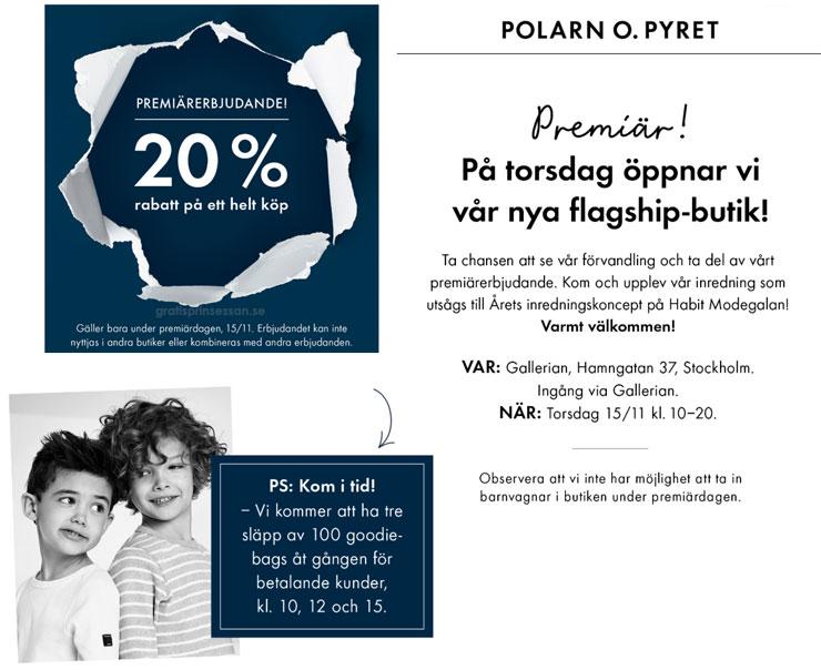 polarn o pyret flagship-butik