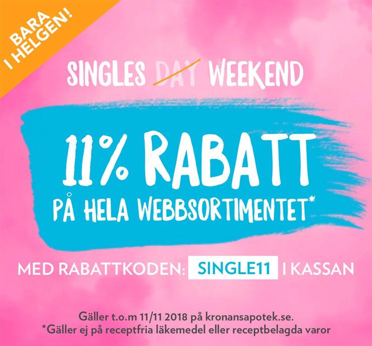 singles day kronans apotek