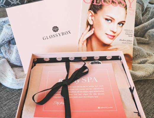 glossybox januari 2019 - beauty spa