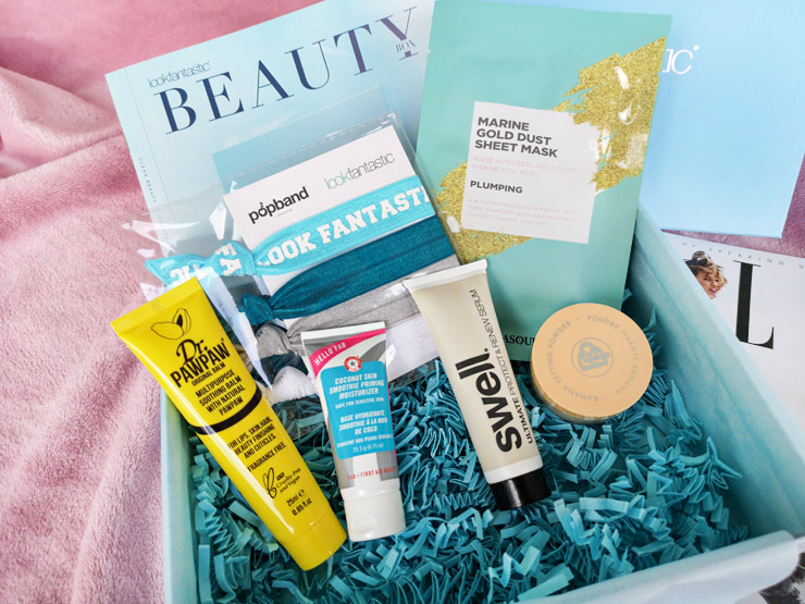 lookfantastic beauty box januari - clean beauty