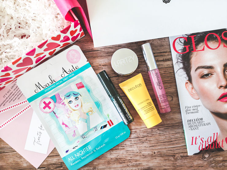 glossybox februari 2019 - it's all about love