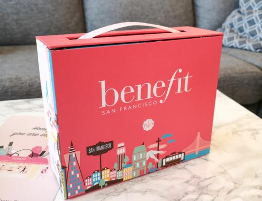 glossybox - benefit limited edition box