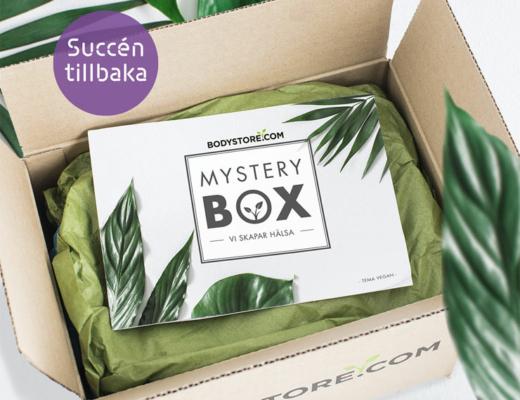 bodystore mystery box - vegan