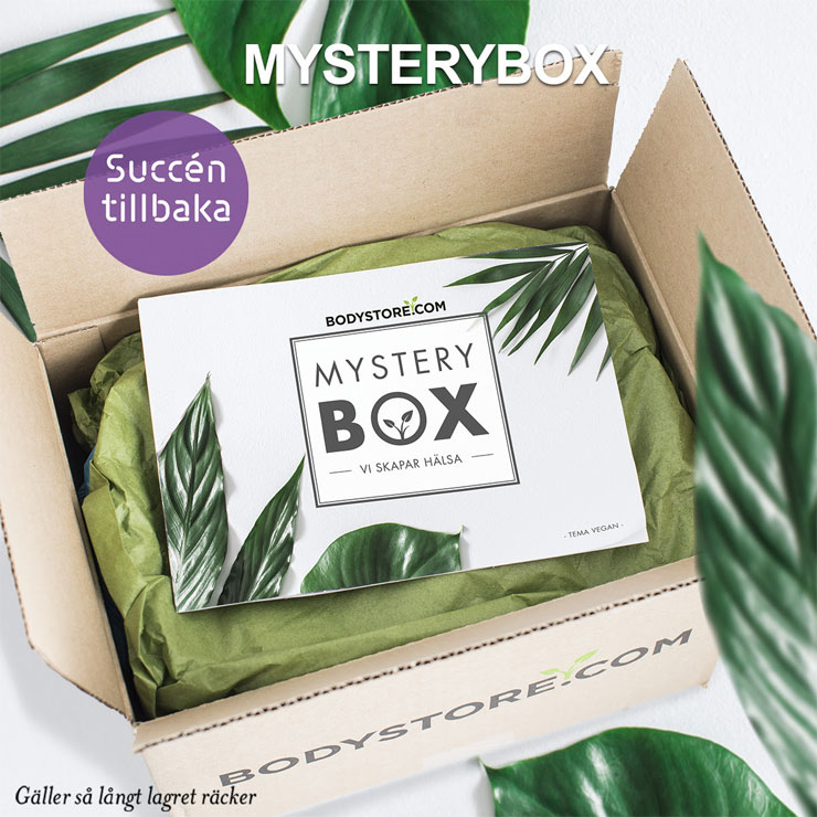 bodystore mystery box - vegan