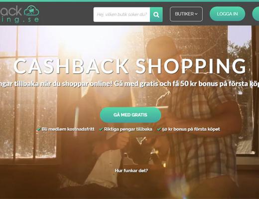 cashbackshopping - 50 kr