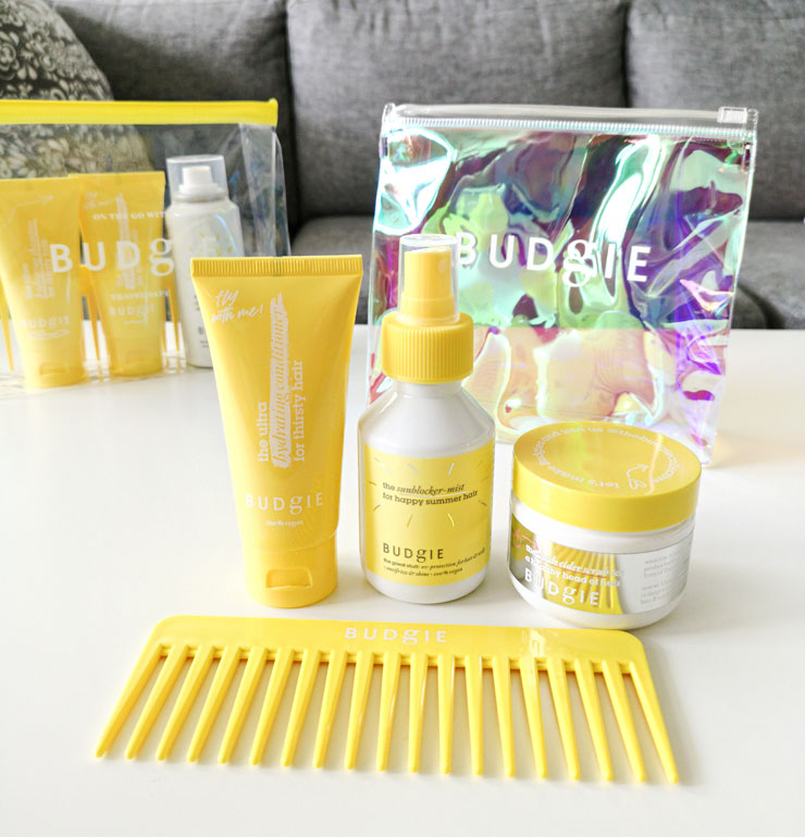 budgie - the essential summer kit