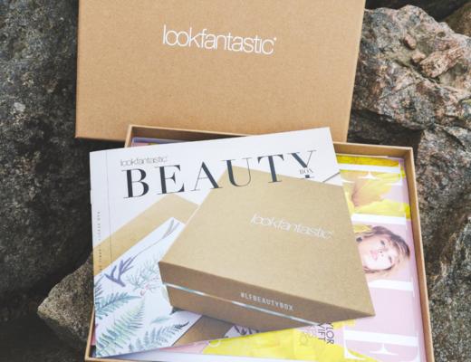unboxing lookfantastic beauty box april - raw beauty