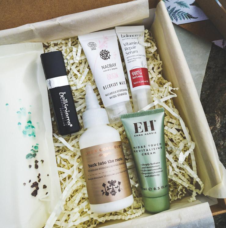 lookfantastic beauty box april - raw beauty