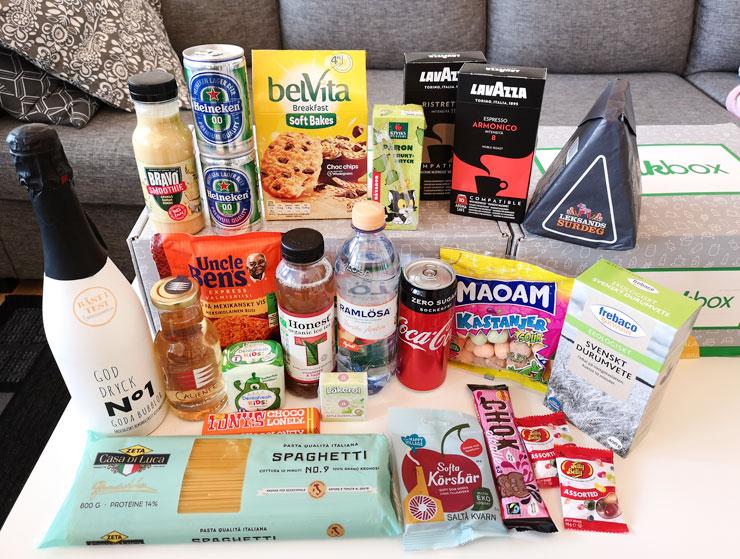 smakbox april vårtid original