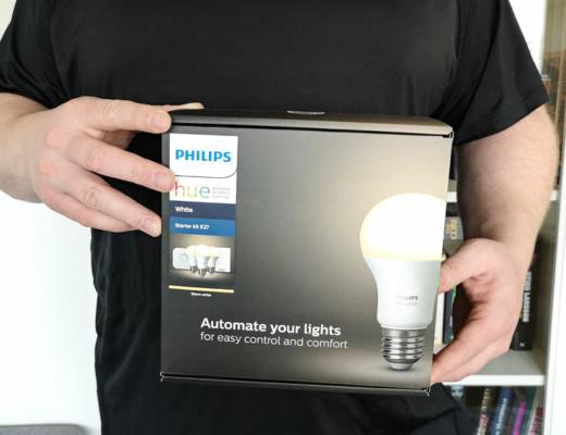 Philips Hue Startkit White E27 Klot + brytare