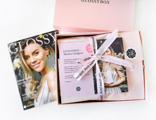 glossybox maj 2019 - therese lindgren