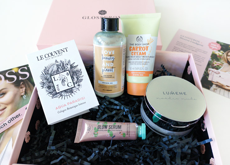 glossybox therese lindgren