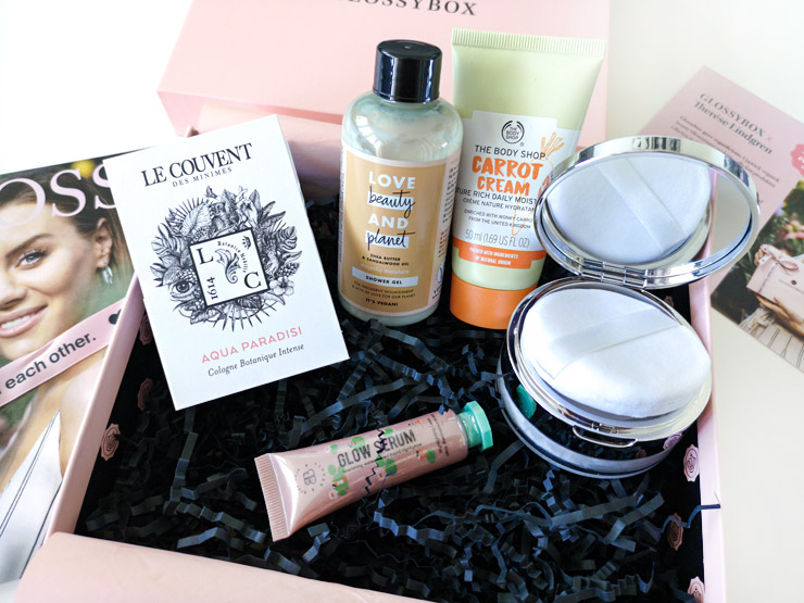 glossybox - therese lindgren