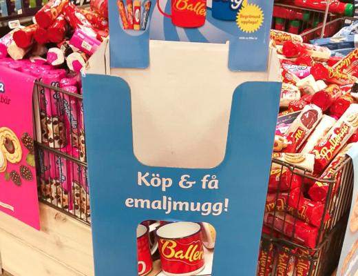 göteborgs kex - emaljmugg