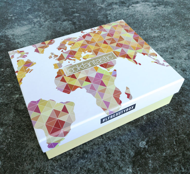 lookfantastic beauty box juni 2019 - around the world