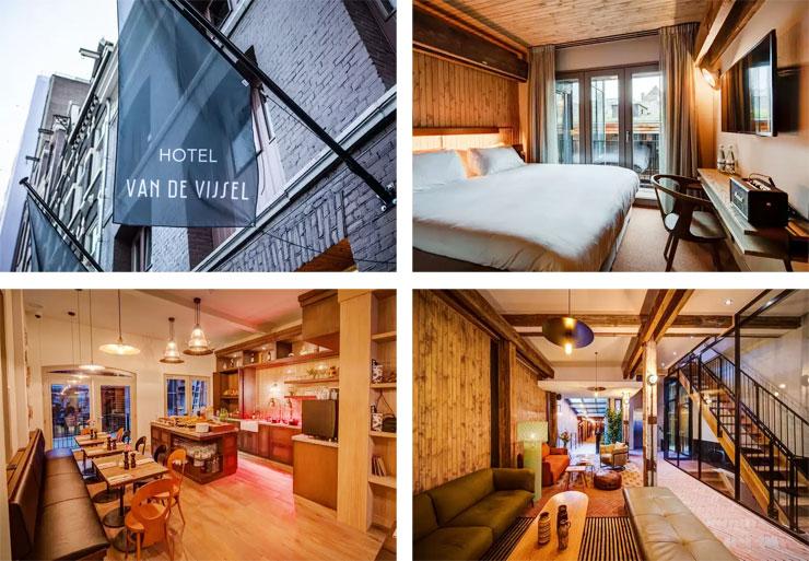 hotel van de vijsel - amsterdam