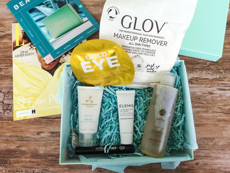 unboxing - lookfantastic beauty box juli 2019